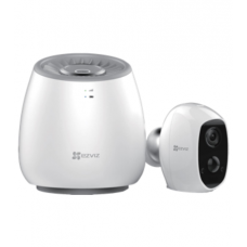 EZVIZ C3A + WLB (CS-C3A-A0-1C2WPMFBR / CS-WLB-EUP) Wi-Fi камера на аккумуляторе / с базовой станцией - 2Mpix